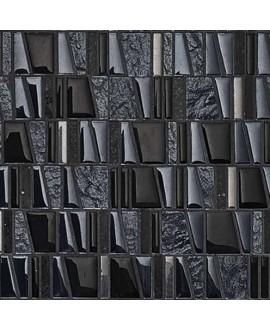 mosaique asi negro 30x31.5 cm