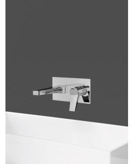 mitigeur lavabo encastré twitter tw206 chromé
