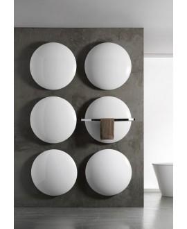 Sèche-serviette radiateur électrique design Antsaturne de couleur