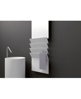 Sèche-serviette radiateur électrique design AntflapsB 201x35cm de couleur
