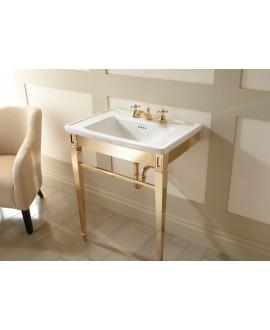 Meuble de salle de bains Imp Radcliffe doré