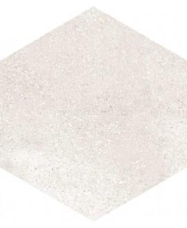 carrelage hexagone rift crema 23x26.6 cm