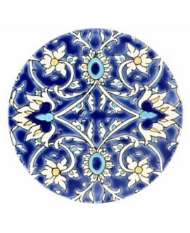Disque rond émaillé diamètre 19.4cm épaisseur 10mm, D bagdad